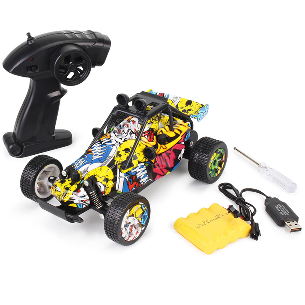 Newest 1:20 RC Car Toys Graffiti Version 2.4GHz Remote Control High-speed Racing Vehicle Off-road Drift 2WD Car Model for Kids new year gift 1 14 murcielago rc speed roadster car remote vehicle perfect drift for fun electric model boy toys race