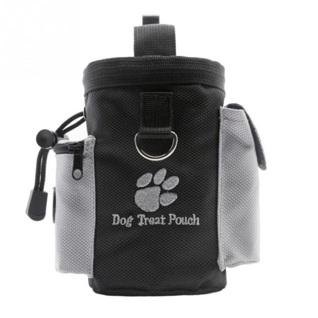 Dog Pet Puppy Obence Agility Bait Training Food Treat Pouch Bag Built In