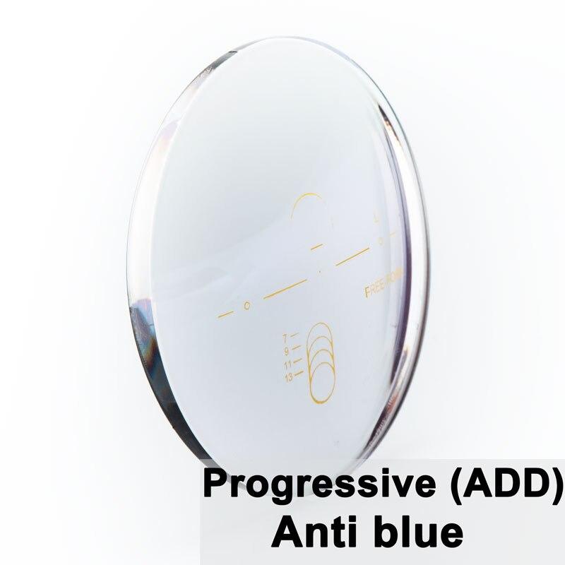 A Pair Of Optical Lens Progressive Multi focus Anti blue Light Myopia Presbyopia Scratch resistant 1
