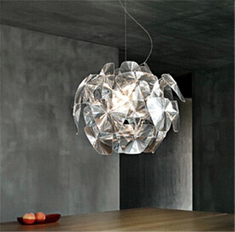 Aliexpress com moderne kurze kreative transparentem löffel tannenzapfen acryl führte e14 pendent lampe für wohnzimmer bar hängige beleuchtung lampe n 1019