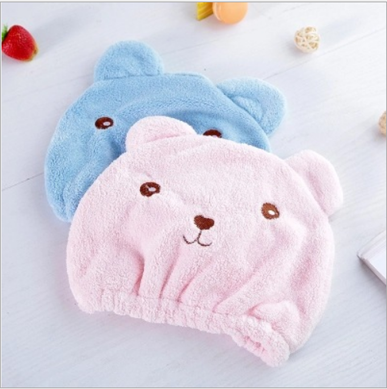 NEW Good Hygroscopicity And Breathability Microfiber Hair Turban Quickly Dry Hair Hat Wrapped Towel Cap Towel