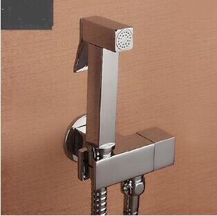 New Arrivals High Quality Bathroom bidet shower faucet mixer toilet spray bidet shower set include hand shower gun bidet faucet 2017 wholesale new premium high quality gold bidet mixer faucet taps
