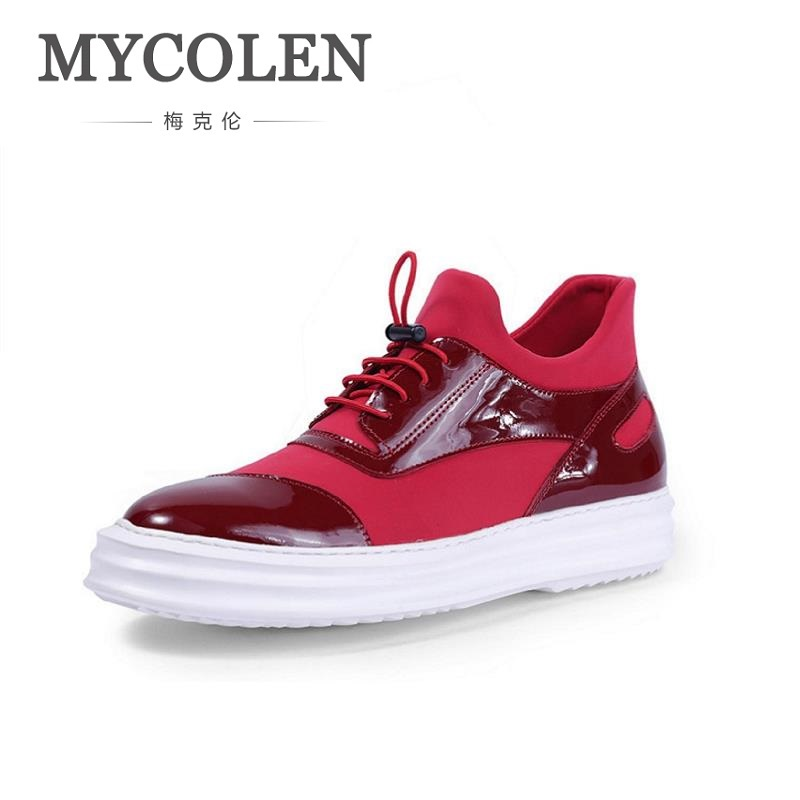 MYCOLEN New Style Men's Casual Shoes Young Comfortable Fashion Design High Top Sneakers Men Shoes Calzado Deportivo Hombre