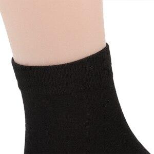 Image 4 - Match Up Calcetines Nuevos estilos hombres calcetines calcetines de Algodón de La Boda de Negocios Negro (6 Pares) tamaño EE. UU. (7.5 12)