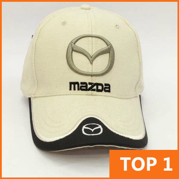 mazda mx5 baseball cap new wholesale profession racing cup leisure hat black blue red miata