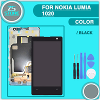For Nokia Lumia 1020 LCD Screen Display Digitizer With Touch Screen And Frame Assembly For Lumia