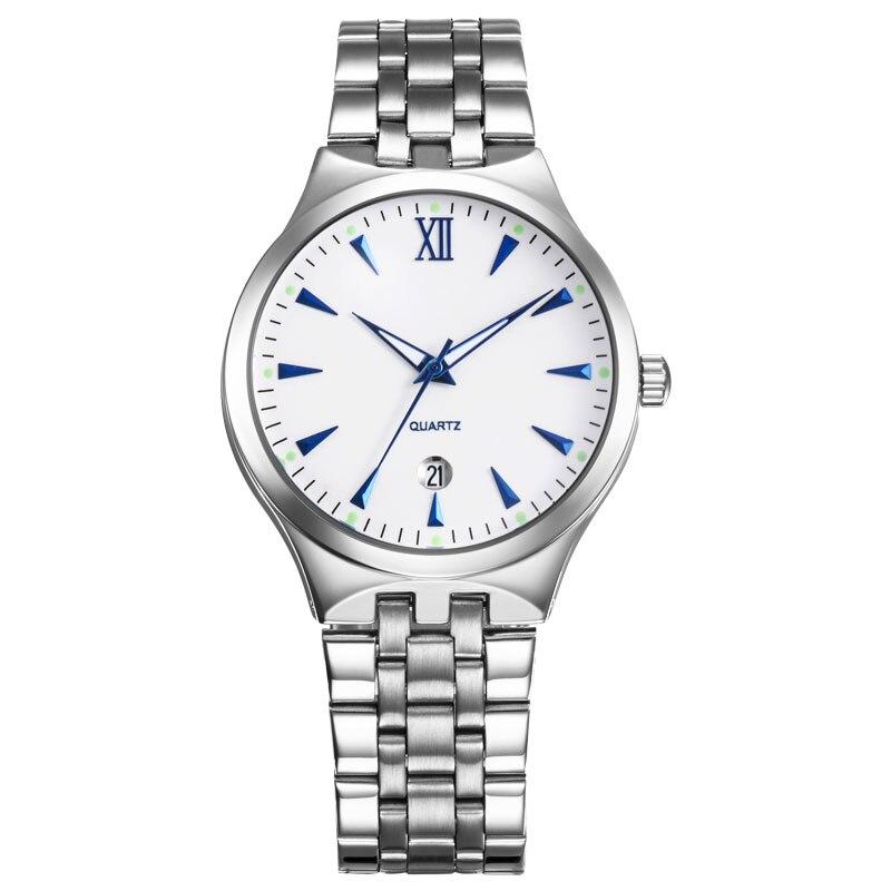 BOAMIGO brand watches men quartz business fashion casual watch full steel date women lover couple