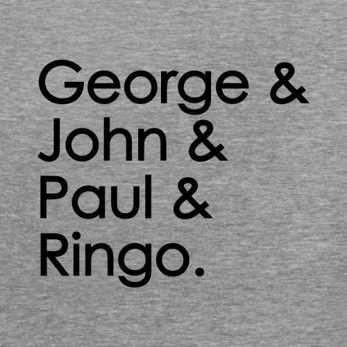 Shirts Homme Novelty Tshirt Men George & John & Paul & Ringo - Mens Crewneck T-shirt - 7 Colours