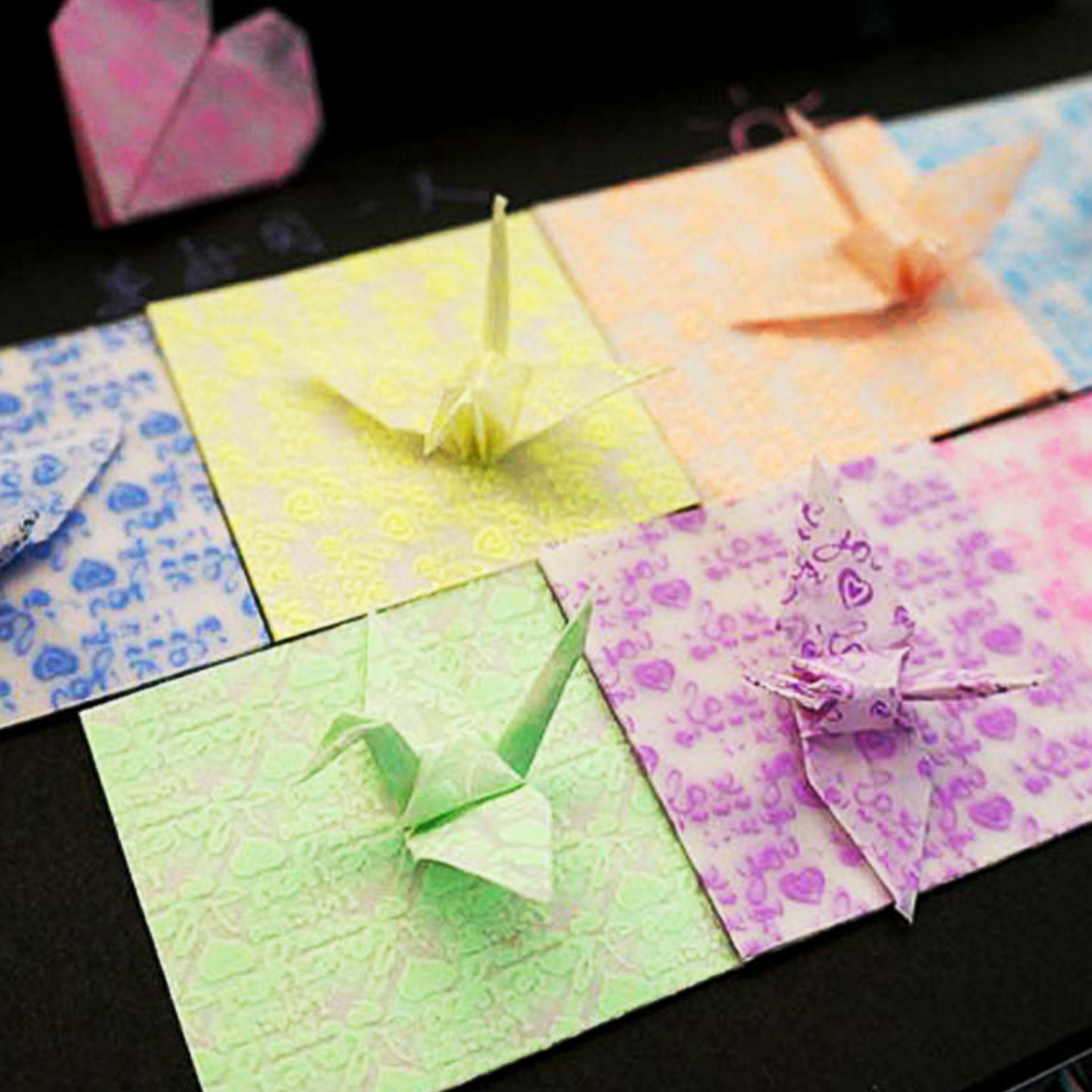 Useful Kids Handmade DIY Scrapbooking Gift Craft Decoration Colorful 18pcs/set Square Origami Paper Single Side Folding Papers