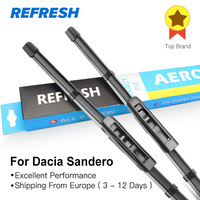 Car Wiper Blades For Dacia Sandero 22 20 Rubber For Front Windscreen Car Accessories Freeshipping