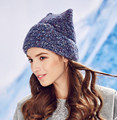 Kenmont New Arrival HandMade Knitted Wool Blend Hat  Russian Winter Women Hat  for Lady Girl Christmas Gift KM-1789