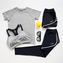 Verzy Large Size 4XL Yoga Suit Women Sport Sets Fitness Jogging Jumpsuit Gym Running T-Shirt Tops&Sports Bra Vest&Fitness Pants