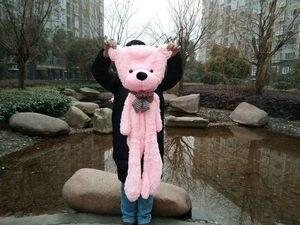 Image 5 - Oso de peluche gigante sin relleno de 60cm a 200cm, juguete de piel de oso de peluche, 7 colores