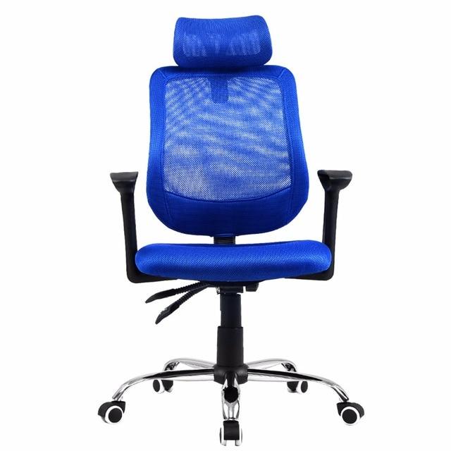 Goplus RU Mesh Office Computer Chair Modern Swivel Lifting Executive Chairs  Hight Back Gaming Armchairs HW51441