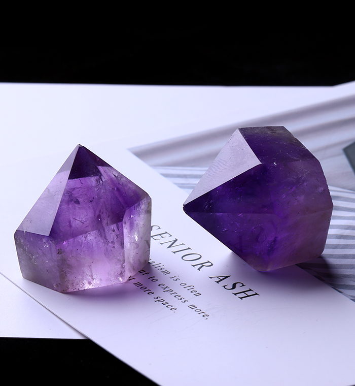 1PC Natural Amethyst Wand Quartz Crystal Repair Crystal Stone accessories Home Decor 16