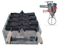 Frete grátis! Máquina de sorvete taiyaki com boca aberta máquina de cone de peixes taiyaki ice cream taiyaki machine gift gifts -