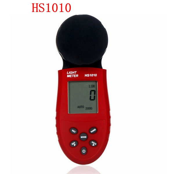 Automatic HS1010 <font><b>HS1010A</b></font> LCD Digital Split Light Luxmeter Tester Illumination Meter Hand-Held Light luminometer image