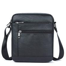 Sac à bandoulière en cuir véritable pour hommes, petit Ipad, sac à rabat naturel, sacoche