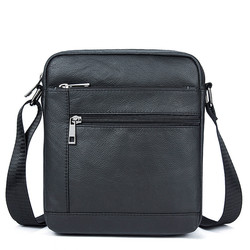 Men Leather Small Ipad Crossbody Bags For Men Naturally Male Flap Bags Messenger Bag Men's Genuine Leather Shoulder Bag