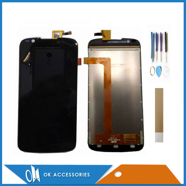 For Fly IQ4413 LCD Display + Touch Screen Digitizer Black Color 100% High Quality With Tools Tape For Fly IQ4413 LCD Display + Touch Screen Digitizer Black Color 100% High Quality With Tools Tape