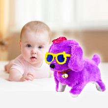 Здесь можно купить  HIINST 2017 New Pink Robotic Cute Electronic Walking Pet Dog Puppy Kids Toy With Music Light Dropship Y791   Electronic Toys