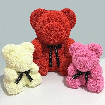 הכנת דובי פרחים לקישוט