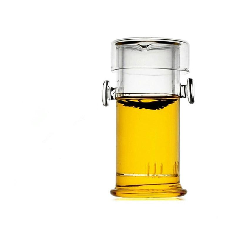 Ny 220ML varmebestandig glas tepot kinesisk Kung Fu blomster tekande - Køkken, spisestue og bar - Foto 2