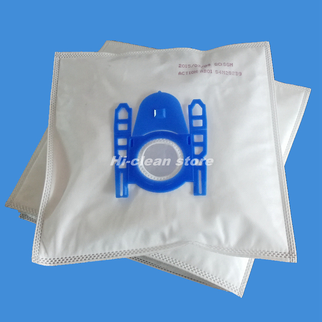 Free Shipping 15x Vacuum Cleaner Bags For Bbs1000 1199 6310 6399 S62 S67 Vs06 Replacement Bosch