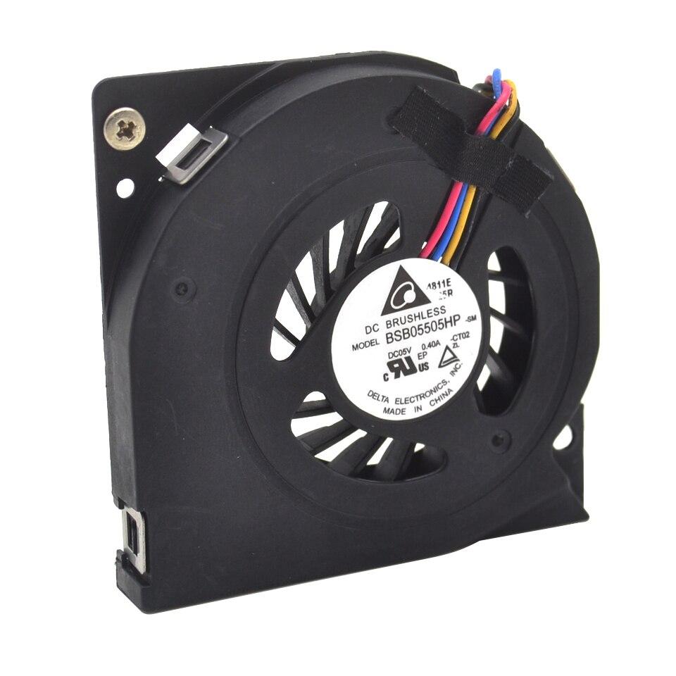 1 piezas nuevo BSB05505HP 5 V 0.40A 5,5 CM 5008 CM 4 cables ventilador de refrigeración
