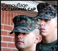 Free shipping,army caps.baseball hats,sales,cool sports Double-headed eagle,octagonal,outdoor camouflage hat 20pcs/lot