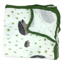 120 * 120CM Новый способ Горячий Aden + Anais 100% CottonTwo Слои Утешитель Весна Осень или Зима Baby Swawdling Спящие одеяла