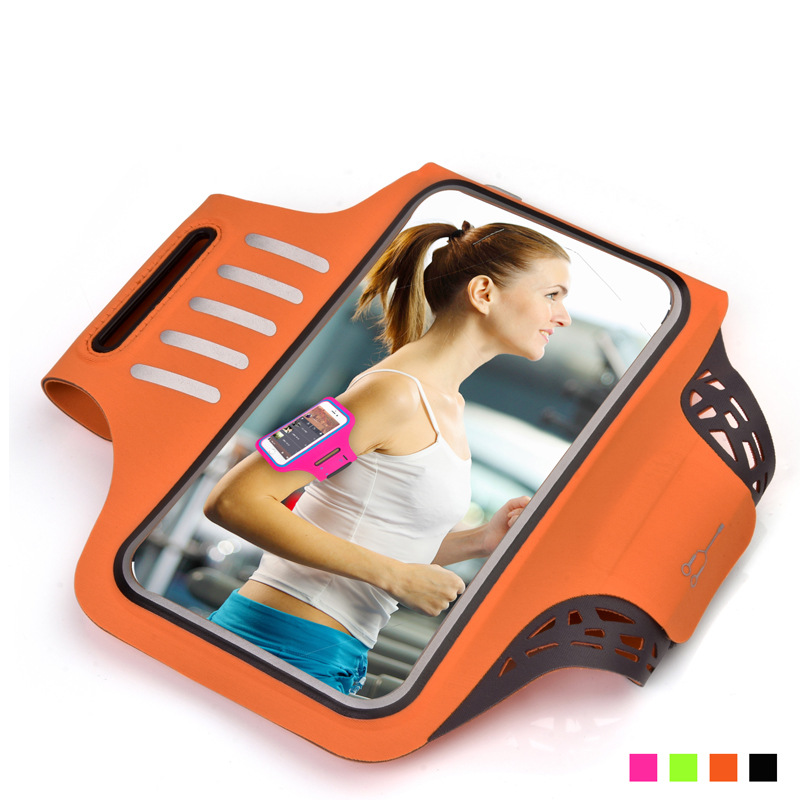 6.2 inch Gym Case for iphone X Sports Jogging ArmBand Bag for Samsung Galaxy S9 S8 Phone Holder Universal Running Arm Band Case