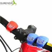 2 PCS Bike Bicycle Cycling Head Front Rear Wheel LED Safty Warning Flashlight Silicone Waterproof Bicycle