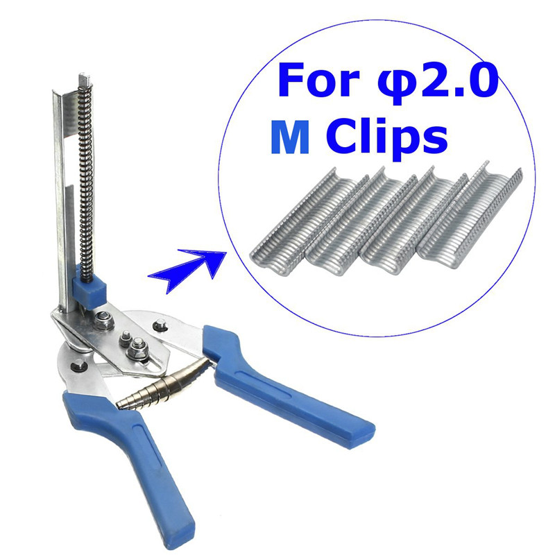 1pc Durable C20 Hog Ring Pliers Heavy Duty C Clip Fencling Fence ...