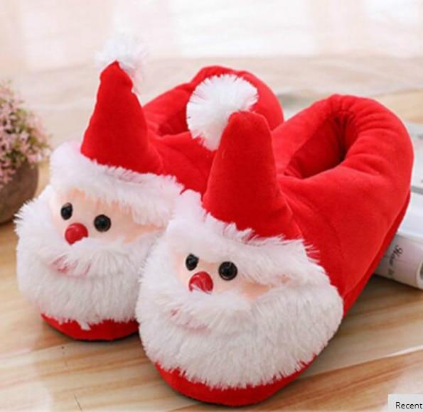 children Christmas Slippers baby kids
