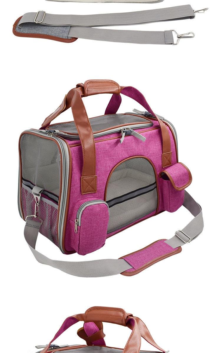Breathable K9 Dog Backpack Carrier 18