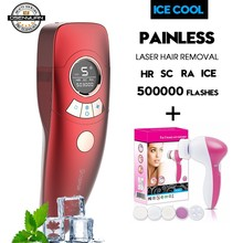4in1 ICECOOL Painless IPL Epilator Device Permanent Hair Removal IPL Laser Epilator Hair Removal Machine цена и фото
