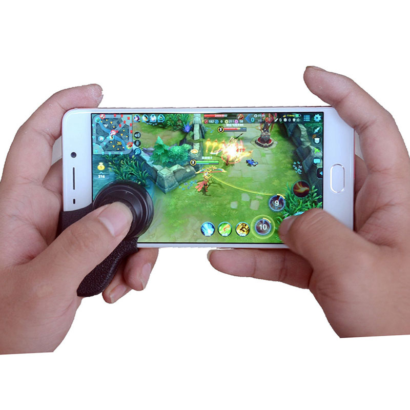 Mini Game Joystick Mobile Phone Physical Fling Touch Screen Gaming Joypad For iPhone And ...