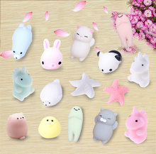 Dropshipping Cute Mochi Squishy Cat Squeeze Healing Fun Kids Kawaii kids Adult Toy Stress Reliever Decor(China)