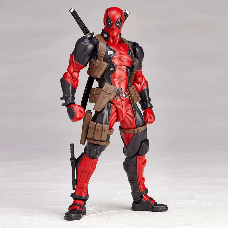 16cm Large Size Superheroes Deadpool with Sword Guns Action Figure toys for Adults 2018 New Big Movie Deadpool 2 Action Figurine 16cm large size superheroes deadpool with sword guns action figure toys for adults 2018 new big movie deadpool 2 action figurine
