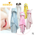 Retail  Cute Animal shape baby hooded bathrobe bath towel baby fleece receiving blanket neonatal hold to be Children kids