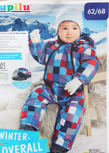 Image 4 - Baby autumn/spring romper Padded One Piece Children Kids Jumpsuit 3months 2Years, overalls(MOQ: 1pc)