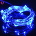 christmas lights led waterproof string led light battery operated 2 M 20 leds for party wedding decoration 3 color
