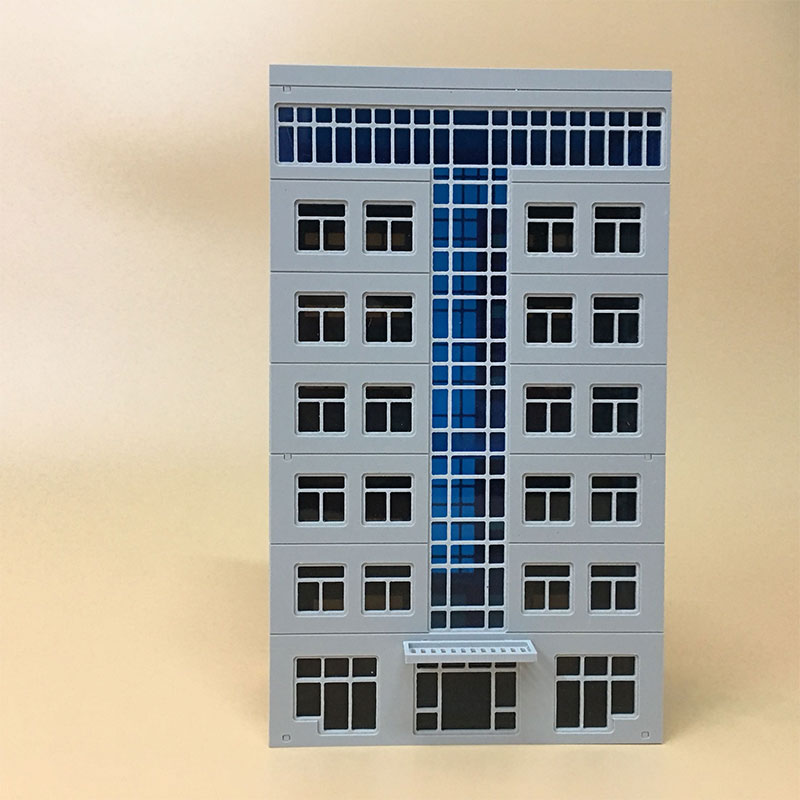 HOT SALE] 1/144 1/150 N scale Proportional Trade Building