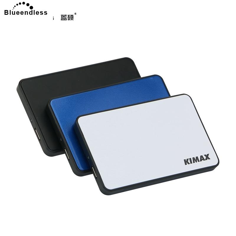 Blueendless externe disque dur 320G/500G/750G/1 TB/2 TB sata HDD USB 3.0 pour ordinateur portable disque dur outil livraison avec protéger hdd cas