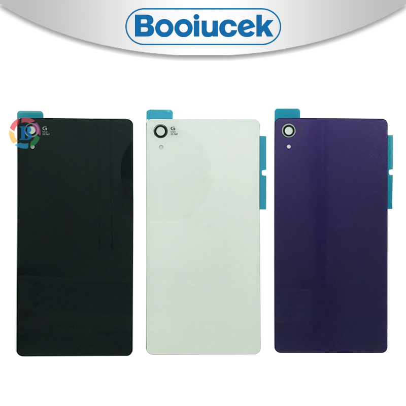 High Quality Back <font><b>Cover</b></font> For <font><b>Sony</b></font> Xperia <font><b>Z2</b></font> D6543 L50W D6503 Housing <font><b>Battery</b></font> <font><b>Cover</b></font> Door Rear <font><b>Cover</b></font> Chassis Frame image