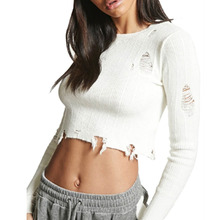 Popular Ripped Sweater-Buy Cheap Ripped Sweater lots from China ...