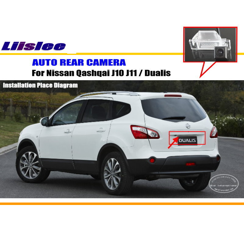 Liislee car camera for nissan qashqai j10 j11 dualis rear view liislee car camera for nissan qashqai j10 j11 dualis rear view camera hd ccd rca ntst pal license plate light oem in vehicle camera from automobiles asfbconference2016 Gallery