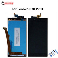 For Lenovo Vibe P70 P70T P70 T LCD Display Touch Screen Replacement Digitizer Assembly For Lenovo