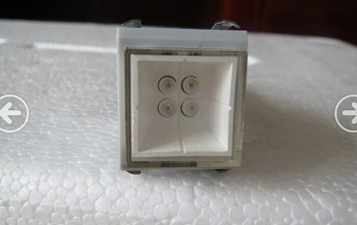 Импорт Японии DS TYPE802 с сильный свет светодиодный переключатель блокировки Embedded Позолоченные 8 pin 8 футов 8 футов кнопочный переключатель - 3